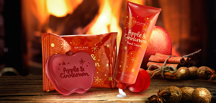 Oriflame | Christmas Cinnamon and Apple