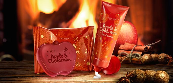Oriflame | Christmas Cinnamon and Apple