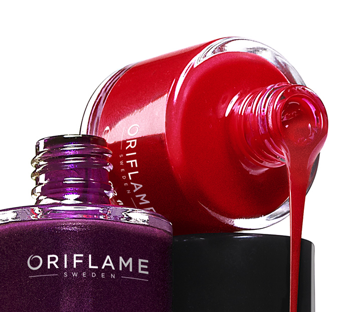Oriflame Pure Colour Nail Polish Retouch By Gerard Baker