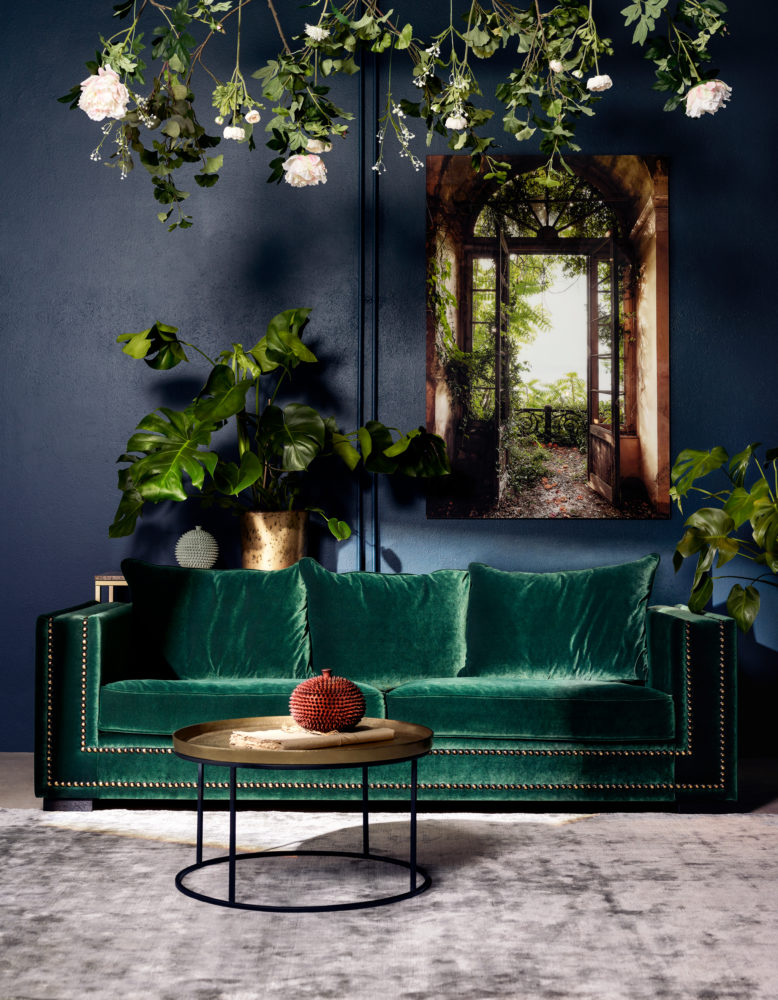 The Sofa Store : Green Chair