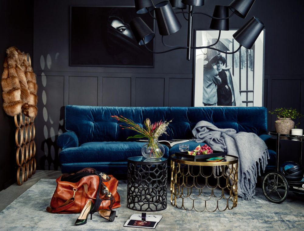 The Sofa Store : Blue Chair